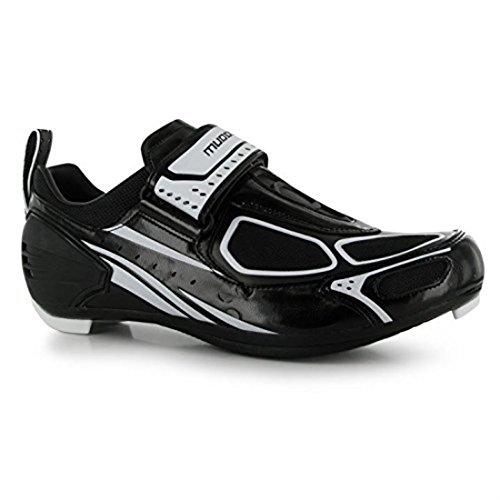 De Para Muddyfox Hombre Ciclismo Negro Tri100 blanco Zapatillas Transpirables 7XzdwXq