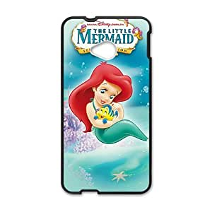 Happy The Little Mermaid Phone Case for HTC One M7 case