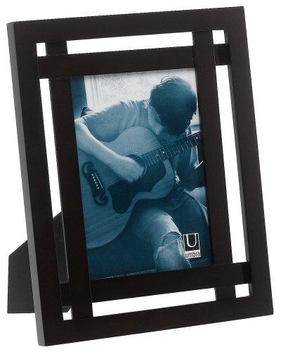 Umbra Teja 5-Inch x 7-Inch Wood Frame, Espresso