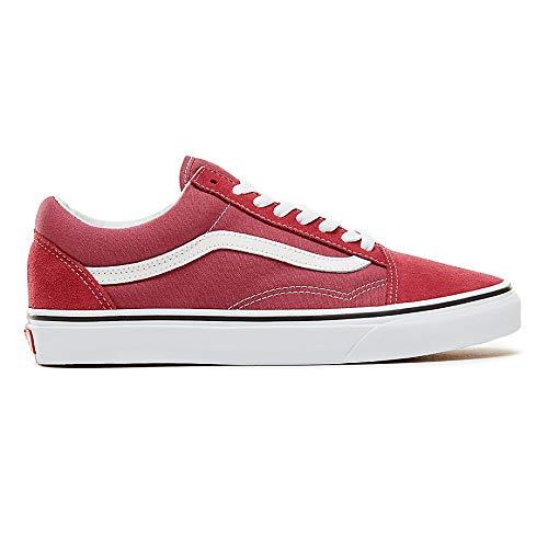 Old Classic True Rose Dry Suede Vans Unisex White Adulto Canvas Skool Sneaker wHEBndqU