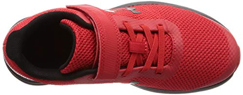 Under Armour Boys' Pre School Surge RN Alternate Closure Sneaker, Red (600)/Black, 3 by Under Armour (Image #11)
