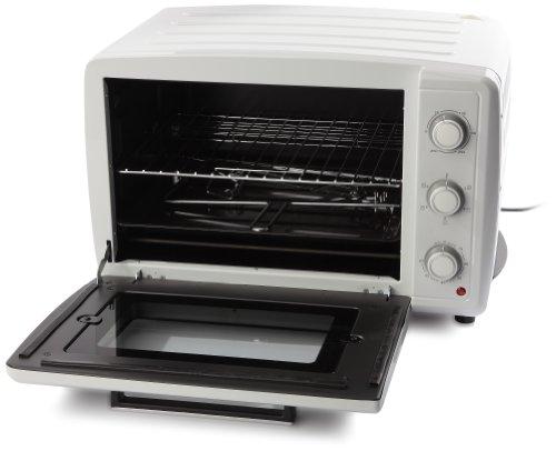 Amazon De Brandt Fc 40 Mw Mini Ofen 40 L 2100 W Weiß