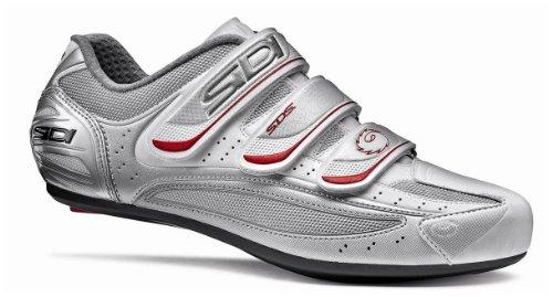 SIDI Nevada Rennrad-Schuhe - Farbe silber/weiss - Größe 46