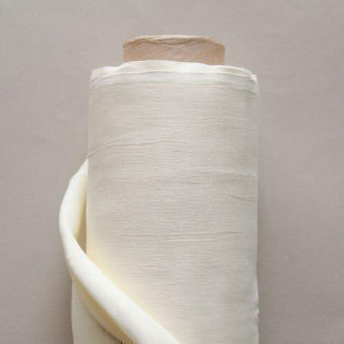 100% algodon de muselina - Rollo de 50 metros - Natural: Amazon.es: Hogar