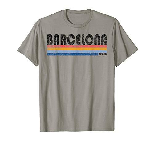 Vintage 1980s Style Barcelona Spain ()