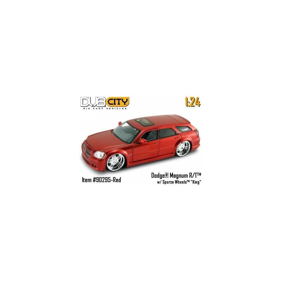 Jada Dub City Red Dodge Magnum R/T 124 Scale Die Car