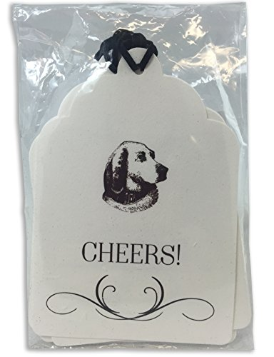 Seven Barks Wine Tags, Dog