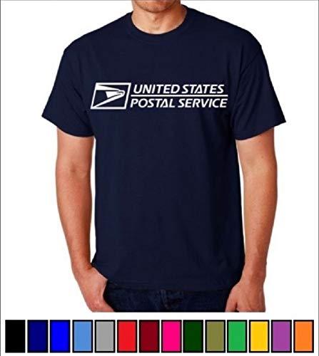 Unisex USPS Postal Post Office DriPower 50/50 Active Short Sleeve Tee Tshirt by PCA Etc