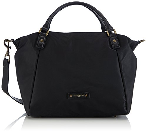 Liebeskind Berlin Amanda Top Handle Bag, Black/Black, One Size Amanda Bag