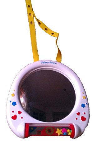 Fisher-Price Big view Mirror Vintage 1991. Item Number 1132 (Fisher Price Crib Mirror compare prices)