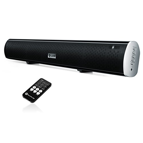 Bluetooth Sound Bar Wireless TV Speaker by GOgroove - BlueSY