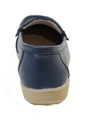 By Shoes -Mocasines ou Náuticos para Mujer Azul