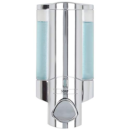 Better Living 76140-1 Products AVIVA Single Bottle Shower Dispenser, Chrome