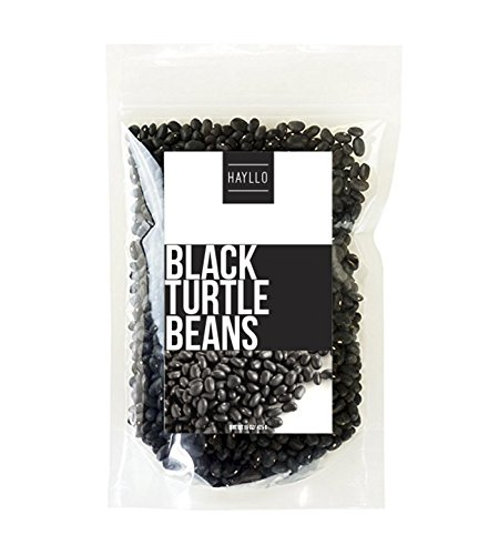 Hayllo Black Turtle Beans , 15 Ounce