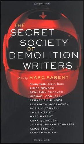 Ebook pdf download torrent The Secret Society of Demolition