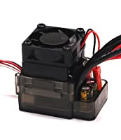 Integy Hobby RC Model C23614 Type II Rock Crawler ESC w/ Drag Brake + Fan (Limit: 55T Motors & 7.2V Input)