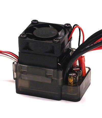 Integy RC Model Hop-ups C23614 Type II Rock Crawler ESC w/Drag Brake + Fan (Limit: 55T Motors & 7.2V Input) ()