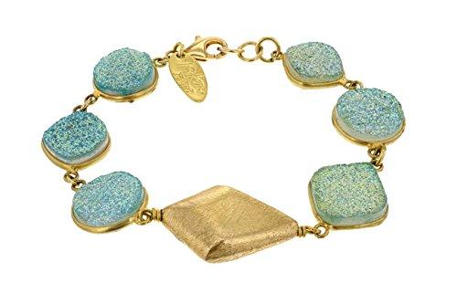 Aikaterini psoma brillant-Pierres bracelet de 20cm