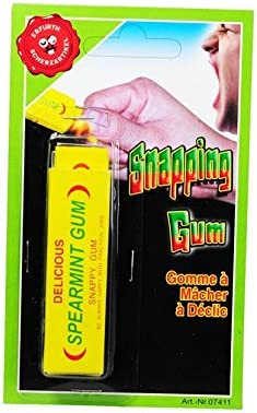 Farces et Attrapes Humour Blague Gomme Chewing gum tape doigt 113