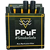 Log 9 Materials Scientific PPuF Post Purification Filter for Cigarettes Single Packet (Black)