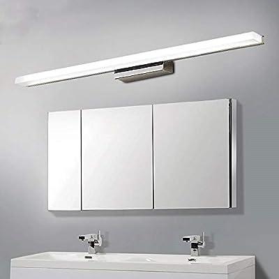 Led Bathroom Lamp Bathroom Mirror Mirror Light Bath Lamp Wall Lamp Cold White Warm White Bathroom Lamp Bathroom Lamp Mirror Wall Make Up Light 40 80cm White Light 40cm Buy Online At Best Price In