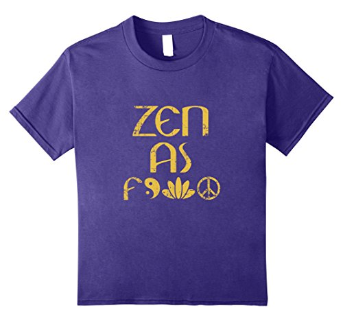 Kids Zen Meditation Lovers T-Shirt For Men Or Woman Buddha Tee 12 Purple Buddha Fitted T-shirt