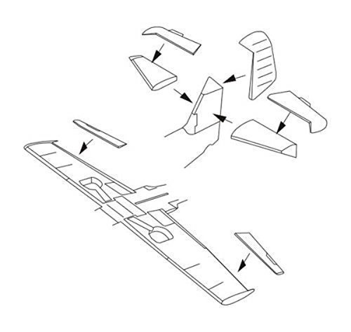 CMK 1:72 Bf 109G-6 - Control Surfaces For Airfix Kit #7290* by Unknown (0100-01-01?