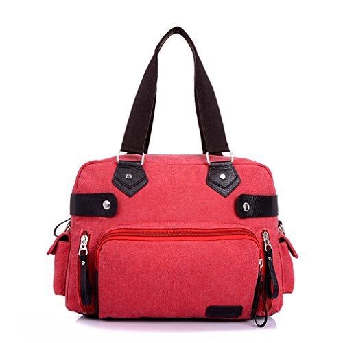 TianHengYi - Bolsa mujer rojo