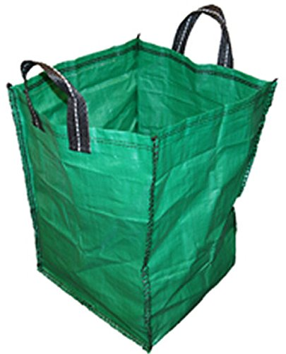 3 x GARDEN WASTE BULK BAG HEAVY DUTY SHOPPING LIFTING BAG 120 LITRE