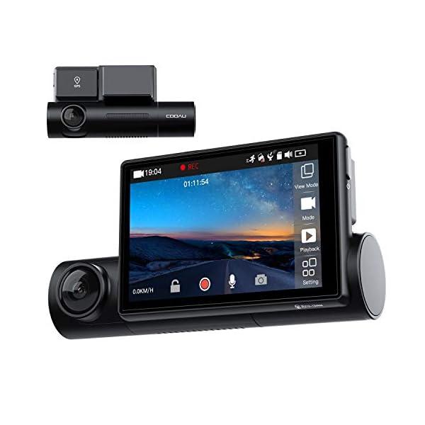 COOAU D68 Full HD Dual Dash Cam
