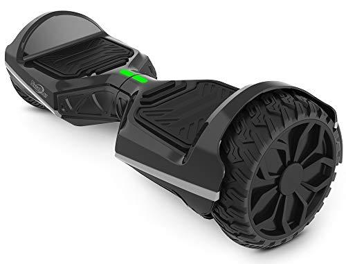 Sagaplay Self Balancing Scooter Hover Self-Balance Board w/ Wireless Speakers - UL2272 Certified, 220W Dual-Motor, 6.5'' Electric Powered Board Hover [EL-ES11, Black (WT42)]