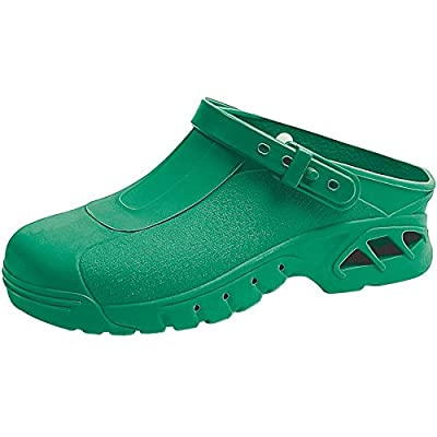 Abeba 9620-38 123 Chaussures sabot autoclavable Taille 38 Vert