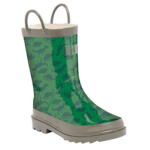 Regatta - Minnow - botas de goma para niño green & grey 44,5 eu, niños, minnow, blue - black Aqua / Mint Green