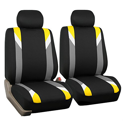 yellow mustang car seat covers - 2