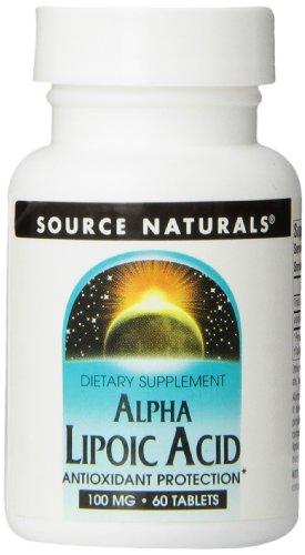 Source Naturals Alpha-lipoic Acid 100 Mg, 60 Tablets For Sale