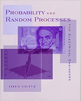 Probability And Random Processes For Electrical Engineers Yannis