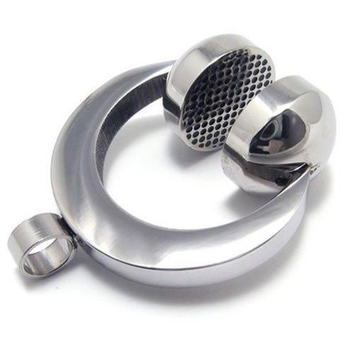 KONOV Stainless Headset Pendant Necklace