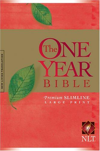 The One Year Bible Premium Slimline