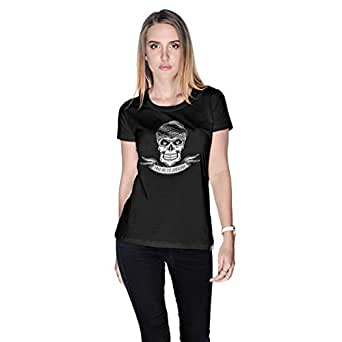 Creo Take Me To Jumeirah Bikers T-Shirt For Women - L, Black