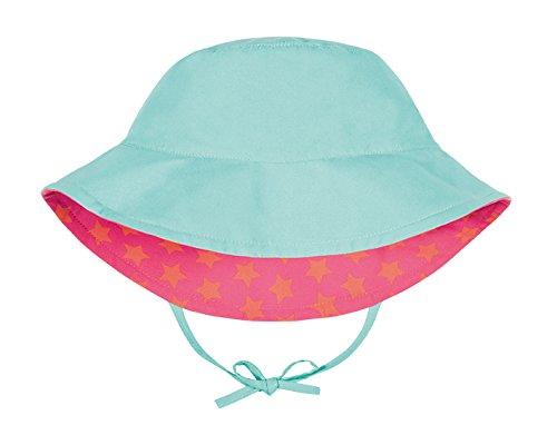 L/ässig Chapeau de Soleil R/éversible P/êche Taille Nouveau N/é 0-6 Mois