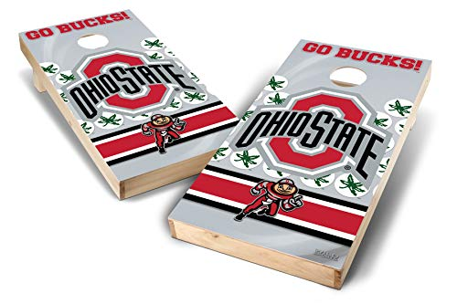 PROLINE NCAA College 2' x 4' Ohio State Buckeyes Cornhole Board Set - Wild