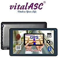 vital Air 9 Quad core GPS Gaming Tablet PC Bluetooth FM 1GB RAM 8GB Nand Flash Android 4.4