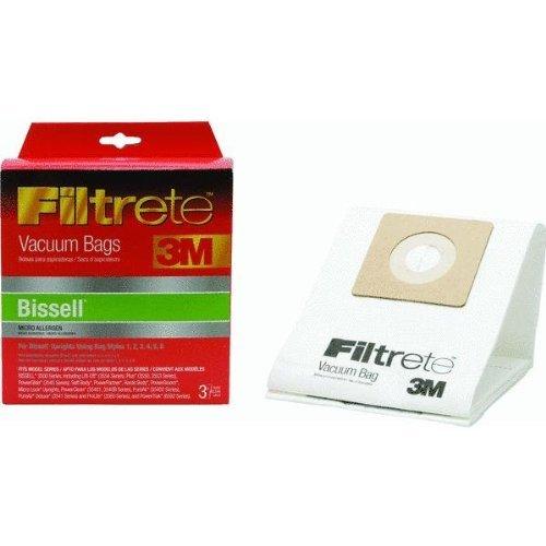 3M 66707A-6 Bissel Filtrete™ Vacuum Bags 3 Count