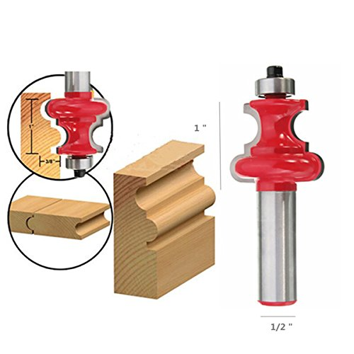 1/2 Inch Round Shank Carbide Router Bit Milling Cutter Engraving Tool by BephaMart