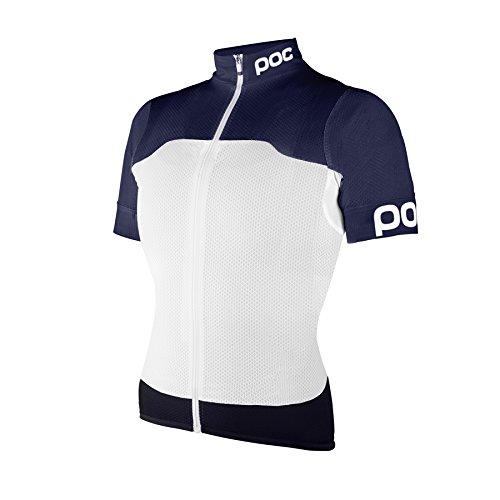 POCスポーツRaceday Climber Jersey – Women 's B01BNIM4A6 Small|Navy Black/Hydrogen White Navy Black/Hydrogen White Small