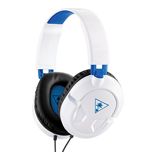 Turtle Beach Ear Force Recon 50P White Stereo Gaming Headset - PS4 and Xbox One (compatible w/ Xbox One controller w/ 3.5mm headset jack)