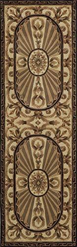 Momeni Rugs HARMOHA-15BLK26C0 Harmony Collection, Traditional Area Rug, 2'6
