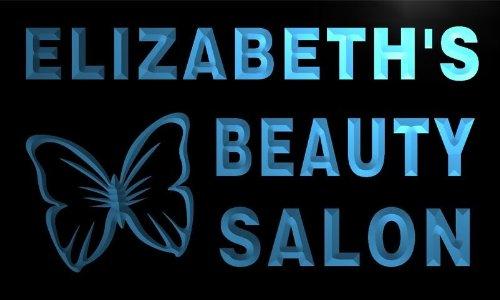 x2005-tm Elizabeth's Beauty Salon Custom Personalized Name N