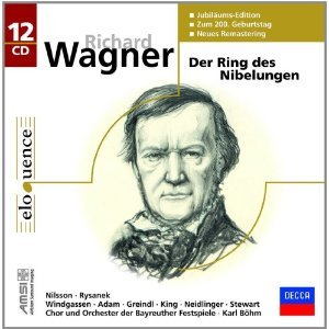 Richard Wagner: Der Ring Des Nibelungen [COMPLETE] (Limited Edition 2013; Newly Remastered onto 12 CD's in Honor of Wagner's 200th Birthday) [ Birgit Nilsson, Leonie Rysanek, Anneliese Burmeister, Wolfgang Windgassen, James King, Theo Adam, Thomas Stewart, Gustav Neidlinger, Josef Greindl, Martha Modl, Ludmila Dvorakova, Helga Dernesch, Anja Silja, Marga Hoffgen, Erika Koth, Kurt Bohme, Erwin Wohlfahrt, Gerd Nienstedt; Orchestra and Chorus of the Bayreuth Festival, Karl Bohm ]