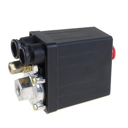 lovoski Presostato Aire Compresor, interruptor de presión, Repuesto 175PSI 12 Bar